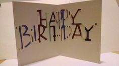 Balloon birthday card (inside)