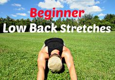 Best Lower Back Stretches & Exercises - Beginner Home Workout Routine