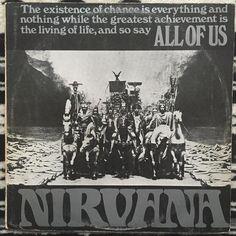 NIRVANA / ALL OF US / UK ISLAND ORANGE AND BLACK BALL Org. / 1968  あっちじゃないニルヴァーナの2nd 英国ソフトサイケ最高峰のうちのひとつ オーケストレーションに変なエフェクターかまして歪ませたり夢遊病の様な霧に包まれたボーカルだったり急に現れるノベルティソングみたいなのがオンナゴエつかムシゴエみたいなだったりJAZZっぽい展開があったと思えばとかなりパラノイア的な展開にクラクラします  英国のサイケ好きなら米国のあっちより数億倍好きかと笑  レコードはムダに高いのでこれしか持っていませんがいづれいつかは揃えたい人たちです by vinyl_junkie_jpn