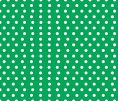 Small Green Dot Pattern fabric by urbanthropologie on Spoonflower - custom fabric