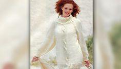 Пуловер с «косами»   Loveknitting.ru