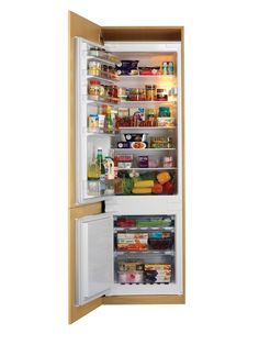 Store all the food you need in this integrated white Bosch fridge freezer. Bathroom Worktops, Kitchen Taps, Kitchen Units, Kitchen Cupboards, Kitchen Reno, Integrated Fridge, Door Fittings, Fitted Bathroom, Farmhouse Furniture