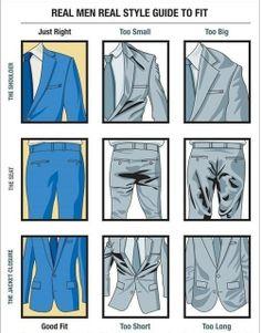 Suit fit tutorial: jacket & pants.