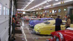 Ed Brown's garage is located near Leechburg PAEd Brown's shop