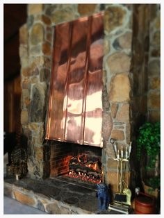 Fireplace Logs, Gas Logs, Hearth, Southern, Rugs, Painting, Log Burner, Farmhouse Rugs, Home