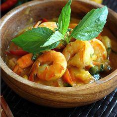 Cambodian Lemongrass Shrimp