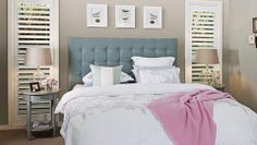 How to create a bedhead  - Better Homes and Gardens - Yahoo!7