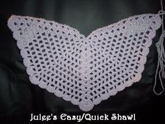 Angel Wings Shawl- so pretty