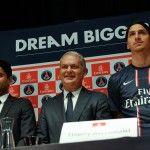 Champions League: poker di Ibra, show Bayern, United ok