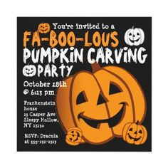 Pumpkin Craving Halloween Party Invitation from http://www.zazzle.com/costume+party+invitations