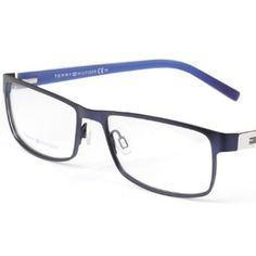 5a85198d8d9 TOMMY HILFIGER Adult Men And Women Paneled Mirror Optical Frames TH1127  Blue Tommy Hilfiger.  77.00