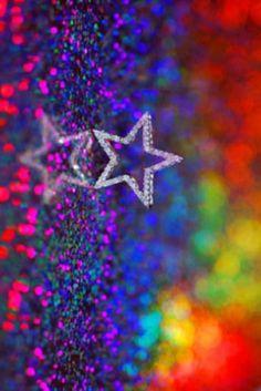 Rainbow | Arc-en-ciel | Arcobaleno | レインボー | Regenbogen | Радуга | Colours | Texture | Style | Form |  star