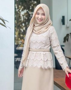New Dress Hijab Formal Modest Clothing 30 Ideas Kebaya Muslim, Kebaya Modern Hijab, Kebaya Hijab, Kebaya Dress, Hijab Dress, Kebaya Brokat, Modest Dresses, Trendy Dresses, Modest Outfits