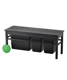 Recycling Bench | Just in time for Earth Day, IKEA's new sustainable ANVÄNDBAR collection features products made from natural materials and aims to help you live a greener lifestyle. It's rolling into stores now—check out a few of our favorites below.