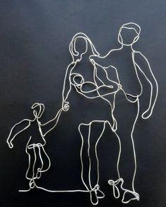 escultura de arame bailarina - Pesquisa Google