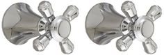 Delta Faucet H295PN Cassidy Two Cross Bath Faucet/Bidet Handle Kit, Polished Nickel - - Amazon.com