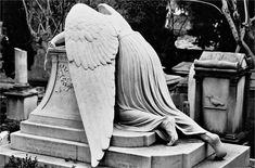 William Wetmore Story: Angel of Grief (Rome, 1894)