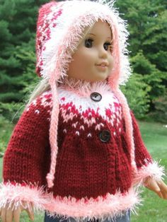 For 18 American Girl Doll Julie Hand Knit Hand Knitted Outfit Set Lot by Astyles | eBay