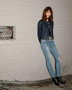 The only skinny you'll ever need. Wear them at midnight, twilight, or all night long. This is the Levi's 711 Skinny.