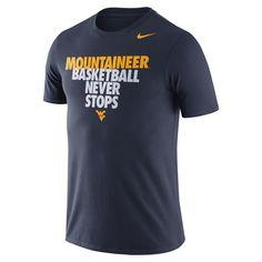Nike WVU Basketball Team Tee Shirt