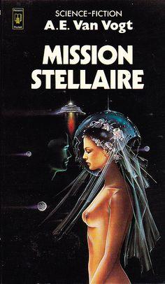 A.E. Van Vogt Mission stéllaire Editions Presses Pocket n° 5009 de 1977 Couverture de Siudmak