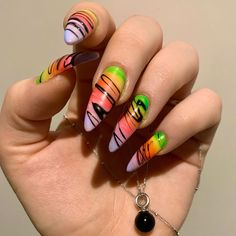 """Tsui auf Instagram: """"🌈 life is bright and colorful and so love is 🏳️🌈 . #instanails #pridemonth #farbebekennen #spreadlovenothate #longnails #rainbow #claws…"""" Instagram Life, Long Nails, Claws, Rainbow, Bright, Colorful, Beauty, Rain Bow, Rainbows"""