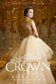 sebunnny: fanart: bookcover >> THE CROWN by Kiera Cass {coming May 3, 2016}