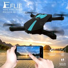 US $30.52 - 44.20  Mini rc drones with camera hd quadcopter WiFi fpv 2MP pocket drone JY018 Elfie Foldable 720P phantom4 pocket helicoptero travel