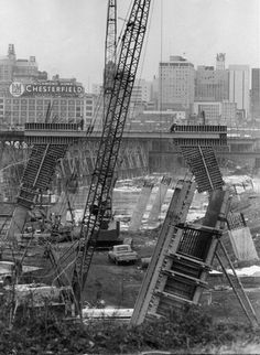 Construction of Manchester Bridge Chesterfield Virginia, Virginia History, Confederate States Of America, Richmond Virginia, Historical Images, City Streets, Old Pictures, Small Towns, Places To Visit