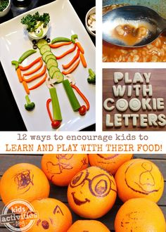 12 Ways to Encourage Kids to Play (and learn) With Their Food