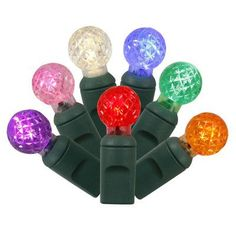 Vickerman 100 LED Light Set Color: Multi