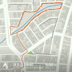 Treino leve antes do trabalho!  Faltam 6 dias para minha primeira corrida! GO! GO! GO!  #GoRunner 15/04/17