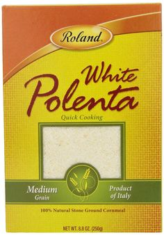 Roland Polenta, Medium Grain White, 8.8 Ounce (Pack of 12) ** Continue to the product at the image link.