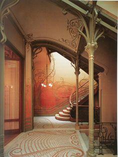 VictorHorta,TreppenhausHotelTassel,Brüssel,1893,Jugendstil