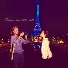 Tom Felton and Emma Watson they would be really cute together.