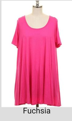 That's the Spirit Solid Tunic Top - Plus Size