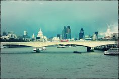 London from the Waterloo Bridge