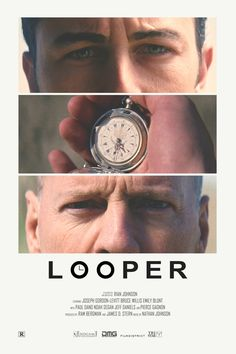 Looper alternative retro poster Print available HERE