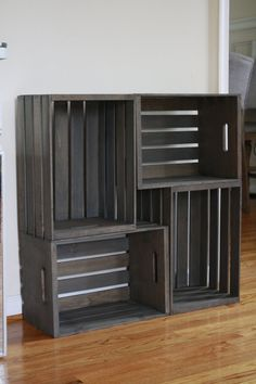 Wooden Crate Storage Crate