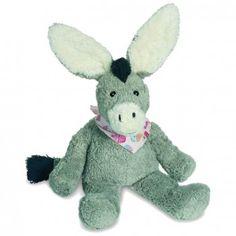 Teddy-Hermann, økologisk bomuldsæsel bamse 25 cm