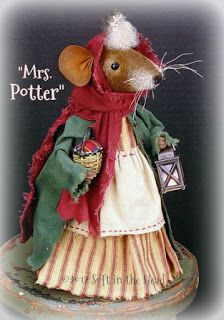 Craft projects for adults mice 49 Ideas Woodland Christmas, Prim Christmas, Christmas Crafts, Fabric Animals, Felt Animals, Craft Projects For Adults, Mouse Crafts, Monkey Doll, Pet Mice