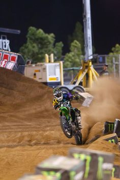 Villopoto at Monster Cup 2011