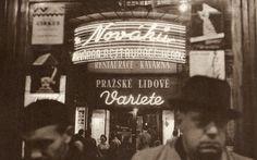 U Nováků - All That Jazz - Prague Nightlife: V.Jírů vs. E.Einhorn, 50's Prague Nightlife, Vintage Images, Night Life, Jazz, Black And White, Places, Prague, Black White, Blanco Y Negro