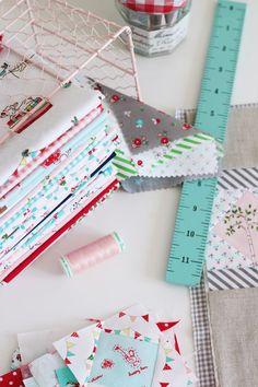 tasha noel fabrics on amy's blog....nana company.