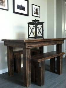 Reclaimed Wood Farm Table and Benches by UnveiledPotential on Etsy Reclaimed Wood Dining Table, Dining Table With Bench, Reclaimed Wood Furniture, Rustic Table, Farmhouse Table, Wood Table, Rustic Furniture, Wooden Benches, Dining Tables