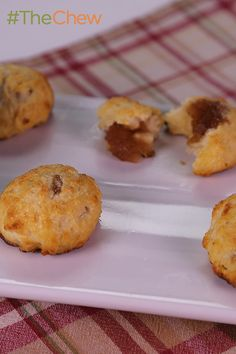 Nothing like some tasty biscuits to really make a meal! Try Chef Carla Hall's Biscuits And Jam for a real Southern delight! #TheChew