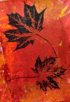 Složitá síť žilek | Výtvarná výchova Fall Crafts For Adults, Art Projects, Projects To Try, Art For Kids, Knitting Patterns, Arts And Crafts, Autumn, Painting, Inspiration