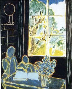 Henri Matisse - The Silence that Lives in Houses, 1947