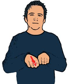 DOG - BSL, middle and index fingers on both hands pointing down twice. Sign Language For Deaf, British Sign Language Dictionary, Sign Language Phrases, Sign Language Alphabet, American Sign Language, Deaf Sign, Learn Bsl, Learn To Sign, Makaton Signs