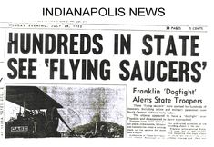 Legacy of 1952: Year of the UFO, Newspaper Articles :: The PhoeniX-Files